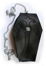 Alchemy - Gothic dooskist tas / portemonnee - Black Coffin