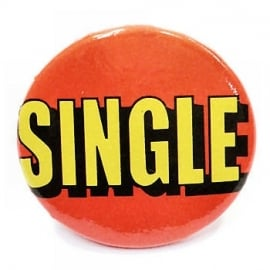 Retro button Single