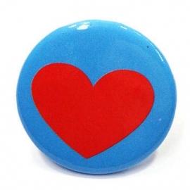 Retro button Hart 1