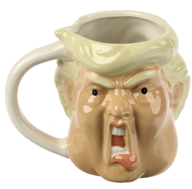 Mok Trump - 11 cm hoog