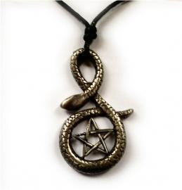 Gothic kettingen pentagrammen