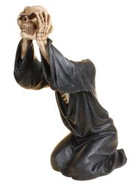 Headless Soul - Magere Hein theelichthouder - 33 cm hoog