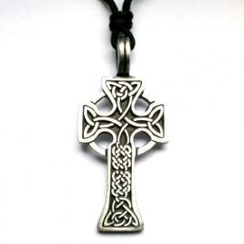 Pewter hanger Keltish kruis 3
