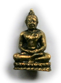 Minibeeld Thaise Boeddha 3.2 cm hoog