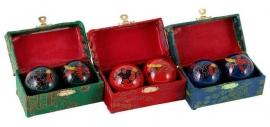 Meridiaankogels / boading ballen / Chinese stress ballen