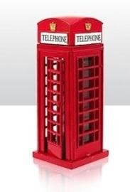 Puntenslijper Brits telefooncel - 9 cm hoog