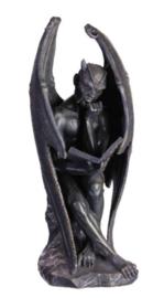 Lucifer Leest de Necromonicon - 20 cm hoog