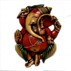 Wandplaat Ganesha