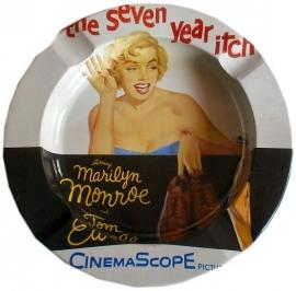 Blikken asbak Marilyn
