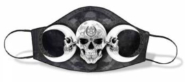 Alchemy England - Gezichtsmasker - Dark Goddess - Drievoudige Maan met Doodskop