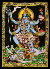 Wall tapestry Kali