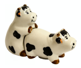Zout en peper strooiers - Kinky Cows