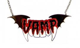 Kreepsville Gothic Vampierenketting Vamp