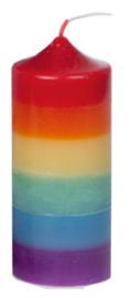 Super Mirthe's Lichtpuntjes - Regenboog- Chakra kaars