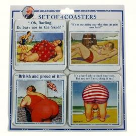 Mc Gill humor onderzetters - aan zee