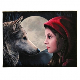 Moonstruck - wall plaque by Lisa Parker - 25 x 19 cm