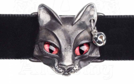 Alchemy Gothic choker - Egyptsche kat-godin Bastet