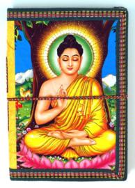 Notitieboek Boeddha - 17 x 10 x 1 cm