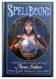'Spellbound' spelboek van Anne Stokes en John Woodward - 15 x 11cms