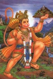 Briefkaart Hanuman