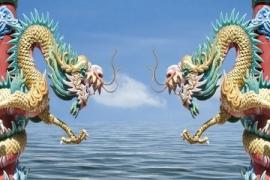 Chinese draken beelden