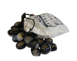 Zwarte Onyx Rune Set