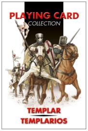 Spelkaarten Tempeliers - 9 x 6 cm