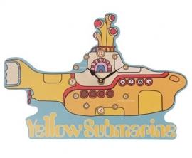 Beatles klok Yellow Submarine - 24 cm lang