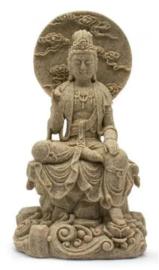 Quan Yin Zandsteen - 19 cm hoog