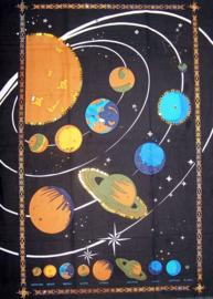 Muurkleed Planeten - 80 x 110 cm