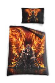 Spiral Direct dekbedovertrek - 1 persoons - Flaming Death - 200 x 135 cm
