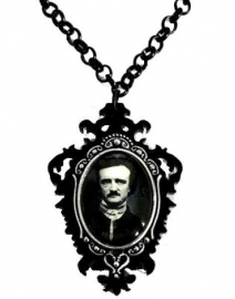 Curiology nekketting Edgar Allan Poe - 5 cm hoog