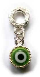 Boze oog bedel groen