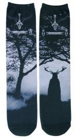 Darkside sokken - Baphomet / Cernonnos - maat 36 - 46