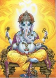 Ganesha postcards