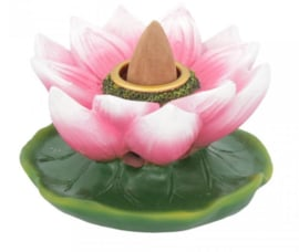 Lotus of Purity - backflow wierookbrander 7.7 cm