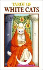 Mini Tarot of The White Cats - 4,5 x 8 cm
