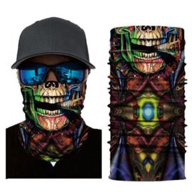 Masker Bandana Voodoo Baron Samedi 3