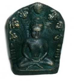 Buddha altaar met 3 kaarsen 2