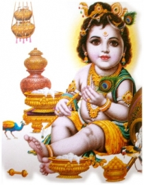 Sticker Krishna 5