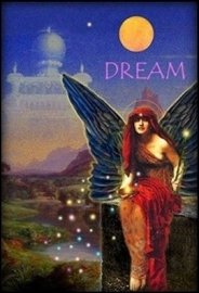 Red Dream Seed Fairy - magneet van Mystical Rose