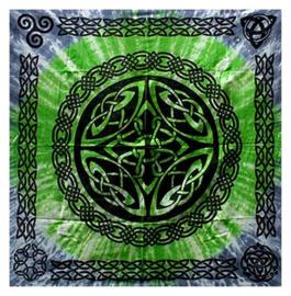 Altaarkleed tafelkleed Keltische Schildknoop 90 x 90 cm