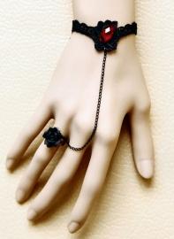 Punk Gothic romantische armbanden