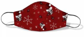 Alchemy England - Gezichtsmasker - Red Creepmas - Alchemy Doodskop met Kerstmuts