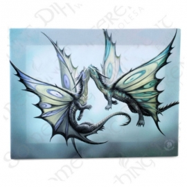 Fly away with me  - wandbord van Anne Stokes - 25 x 19 cm