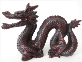 Chinese Feng Shui Draak Rood - 13 x 19 cm