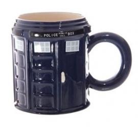 Dr Who Tardis politiecel mok