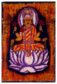Batik wandkleed van Nepal - Lakshmi - 60 x 90 cm