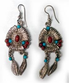 Tibetaanse oorbellen 5