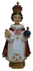 Jezus Christus Kind van Praag beeld 12 cm hoog